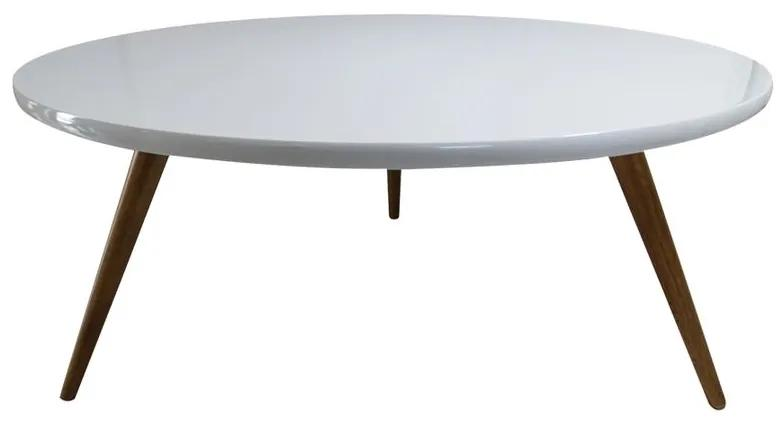 Mesa de Centro Redonda Sinai 80x80 cm - Wood Prime GM 34540
