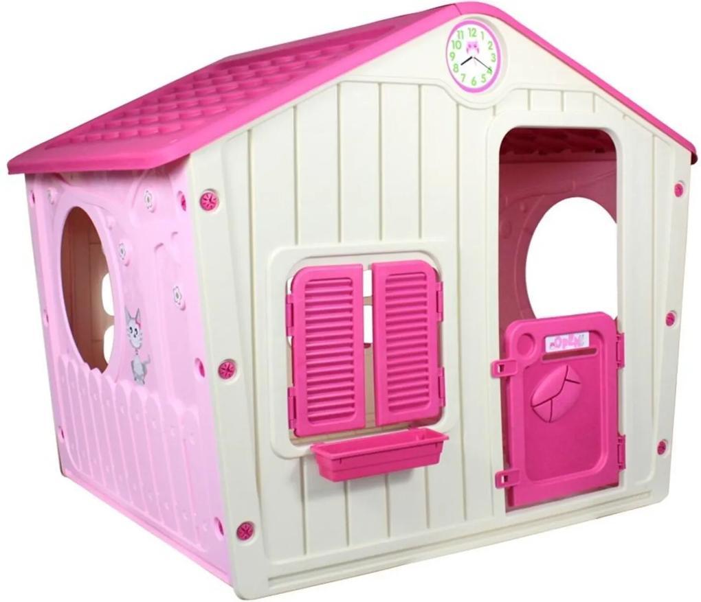 Casinha de Brinquedo Infantil Portatil Bel Brink Rosa