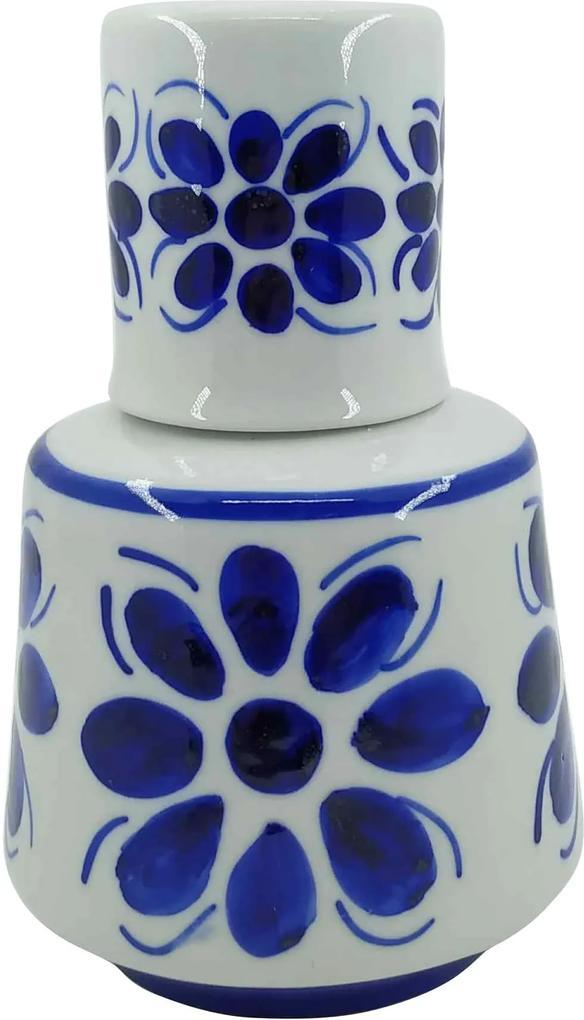 Moringa em Porcelana Azul Colonial 660ml