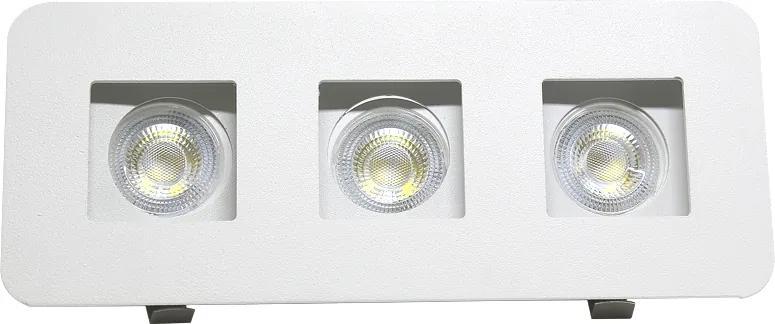 Plafon Embutir Aluminio Branco 19,5cm