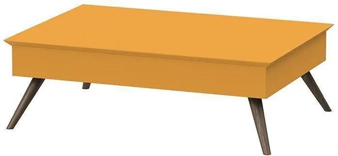 Mesa De Centro Amarelo - Pinoquio