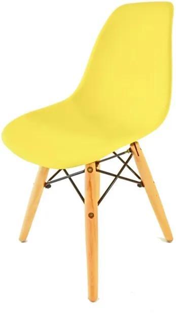 Cadeira Donata Infantil Amarelo