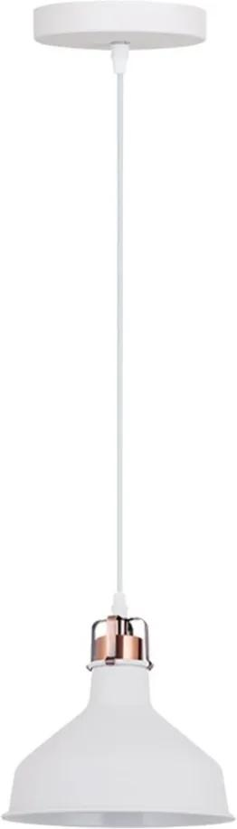 Pendente Metal Branco 19cm