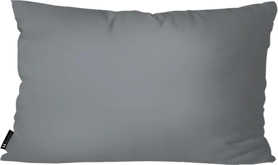 Almofada Mdecore Lisa Cinza30x50cm