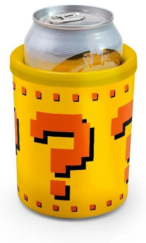 Porta Lata 350ml Bloco Interrogação Super Mario Bros