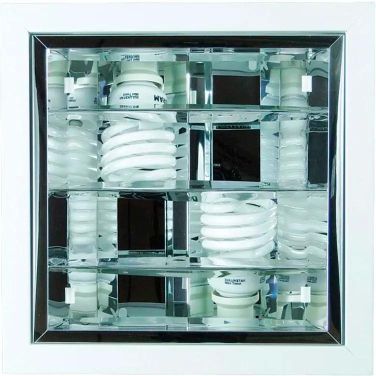 Luminaria De Sobrepor Aluminio Branco
