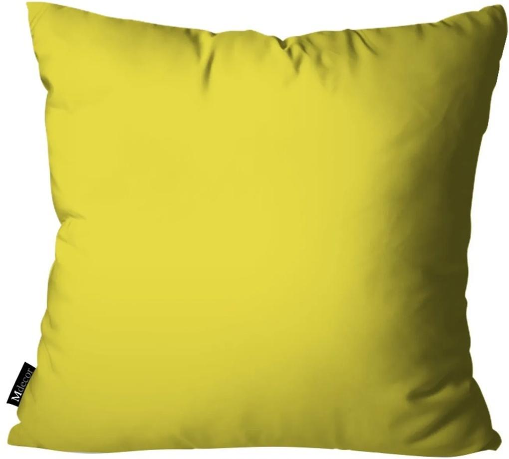 Capa para Almofadas Mdecore de Páscoa Amarelo 35x35