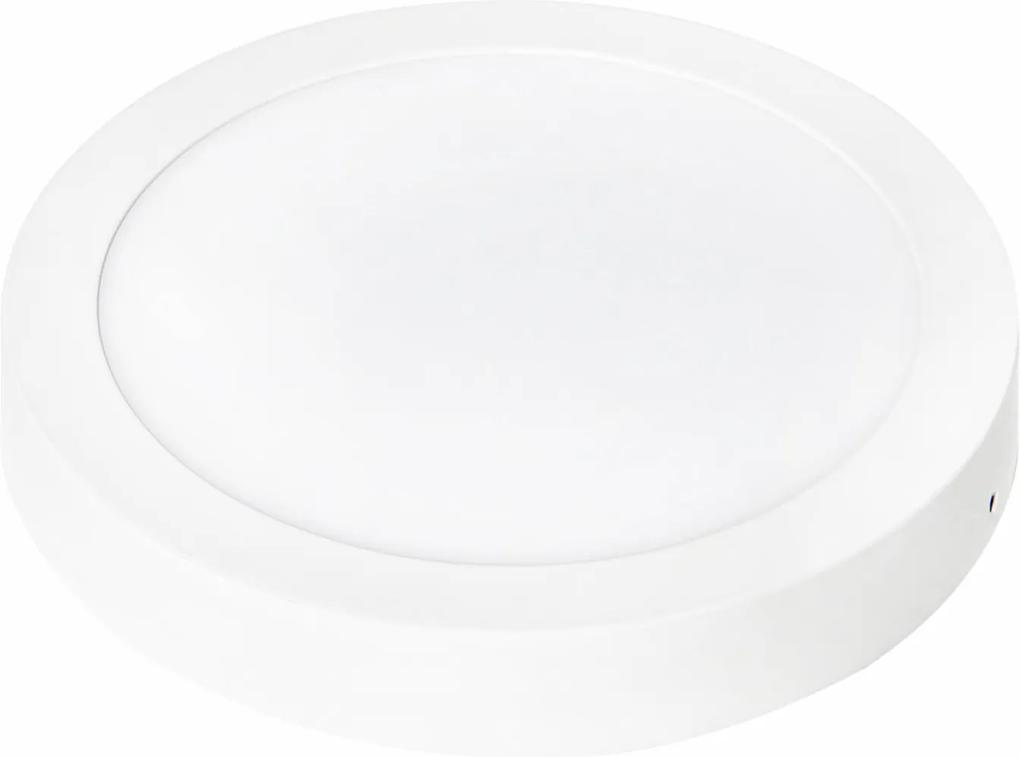 luminária sobrep. SMART R 22,5cm 18w led quente BELLA DL092WW