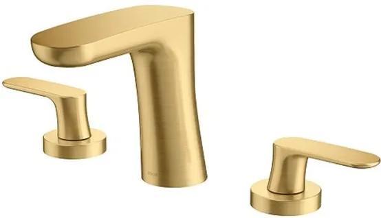 Misturador para Banheiro Mesa Kaila Ouro Escovado - 00886072 - Docol - Docol