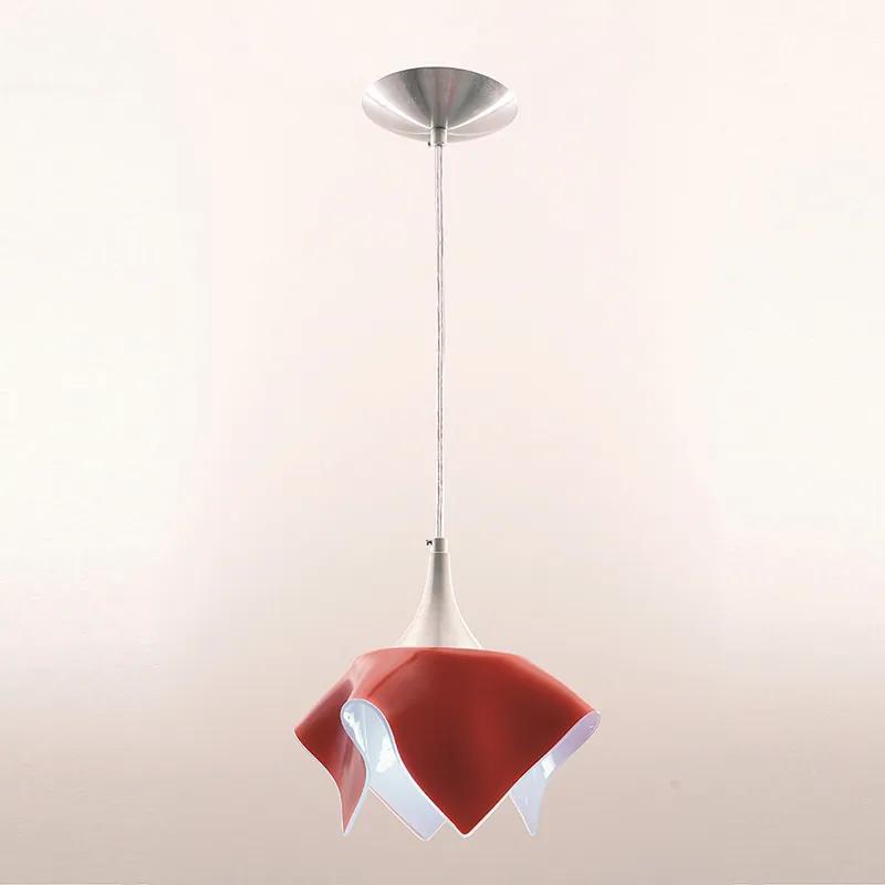 Pendente Color Vermelho para 1 Lâmpada