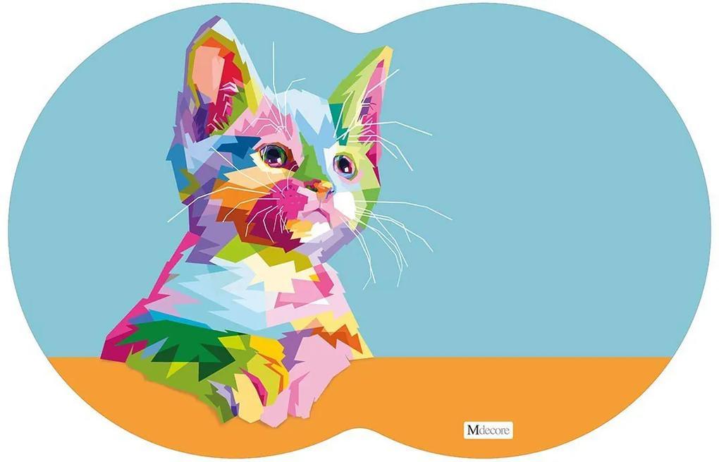 Tapete PET Gato Colorido54x39cm