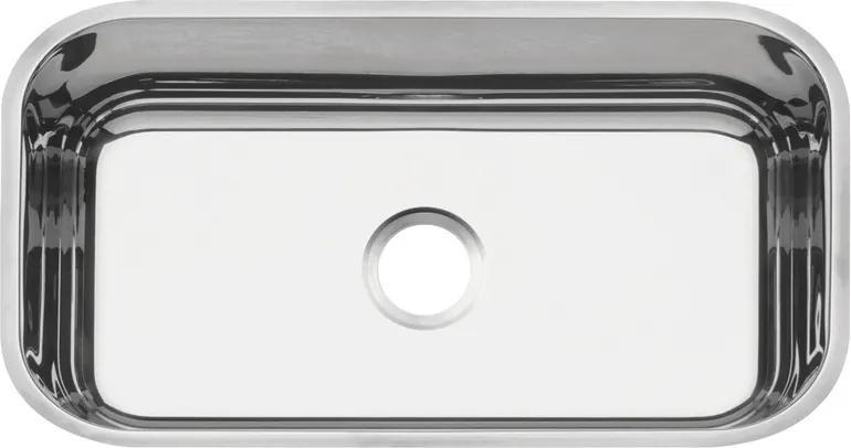 Cuba em aço inox polido 56x34 cm - Standard - Tramontina