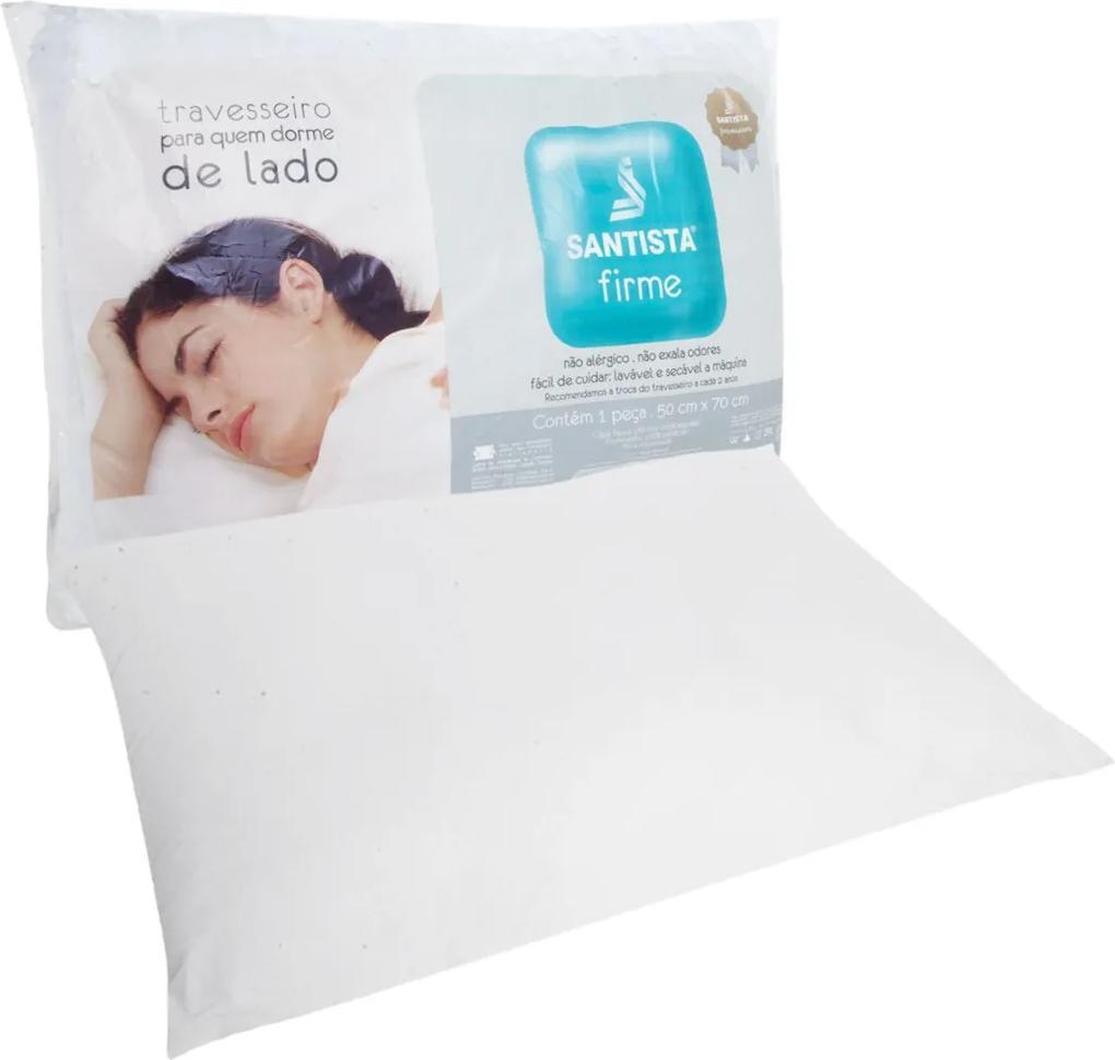 Travesseiro Santista Firme Branco