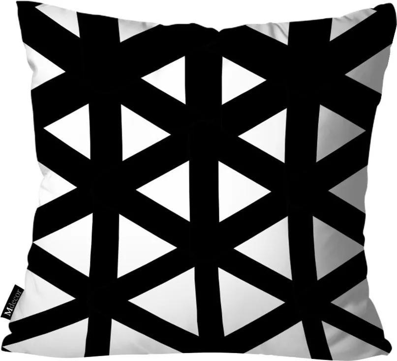 Capa para Almofada Geométrica Preto35x35