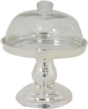 Boleira Decorativa Banho de Prata Minot