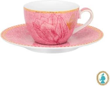 Xícara de Cafezinho Rosa - Spring to Life - Pip Studio