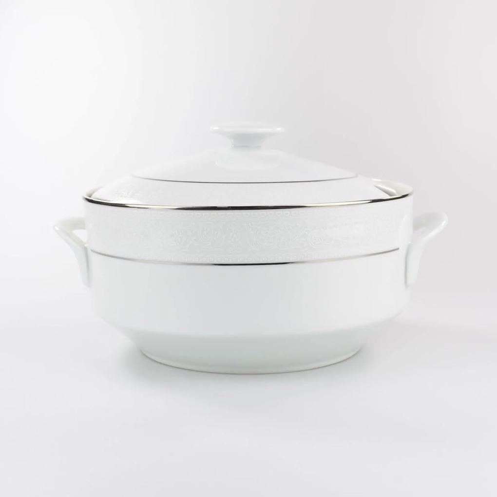 Sopeira Porcelana Schmidt - Dec. Renda Branca