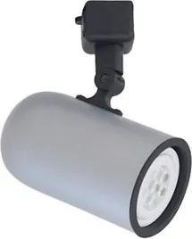 Spot Para Trilho Alumínio Platinado Par20 E27 Giga