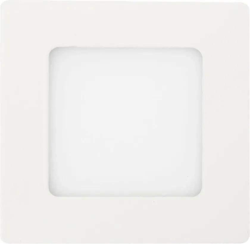 Plafon Led Sobrepor Quadrado Branco 6w Luz Neutra 4000k