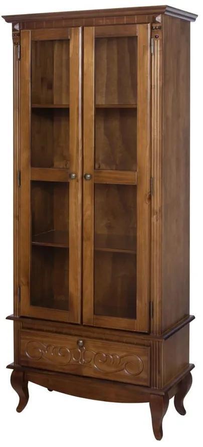 Cristaleira Country com Gaveta 1910 x 810 - Wood Prime TA 29475