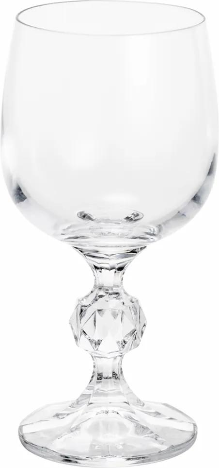Jogo De Taças Cristal Ecológico Vinho Tinto 190ml Klaudie