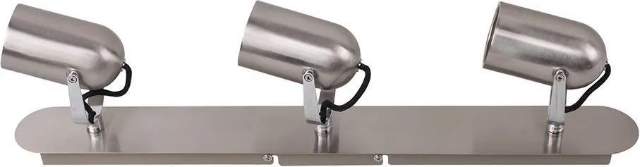 Spot Saja Triplo 57cm em Aço e Alumínio Direcionável