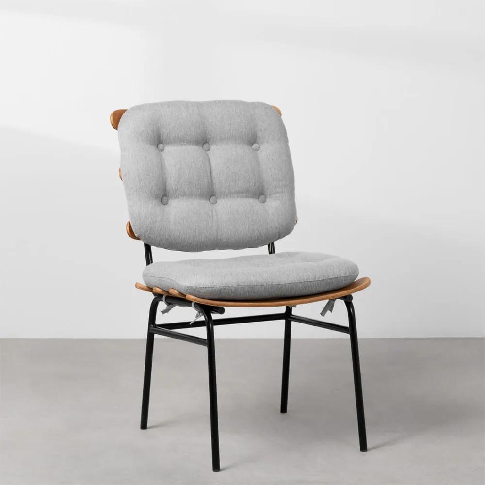Cadeira de Escritório Costela Fixa - Cinza