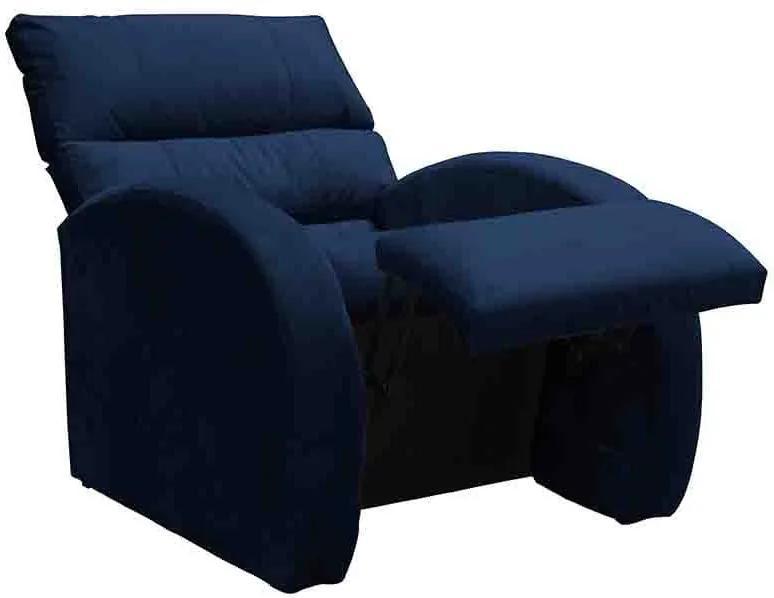 Poltrona do Papai Reclinável Camaro MX35 - Matrix - Azul