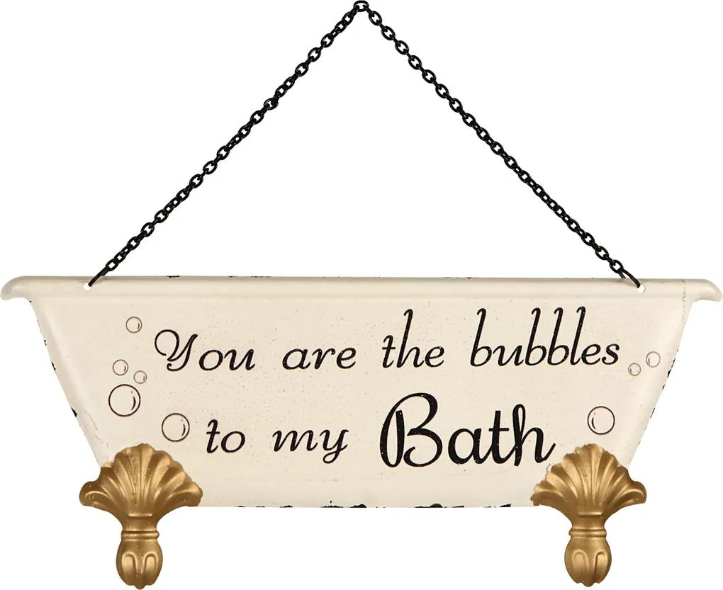 Placa Decorativa Bath