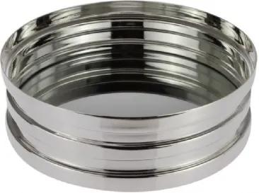 Cachepot Bowls em Espelho Prata Shefield Plate