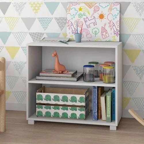 Estante Infantil para Quarto Charm 1 Prateleira Branco - Casatema