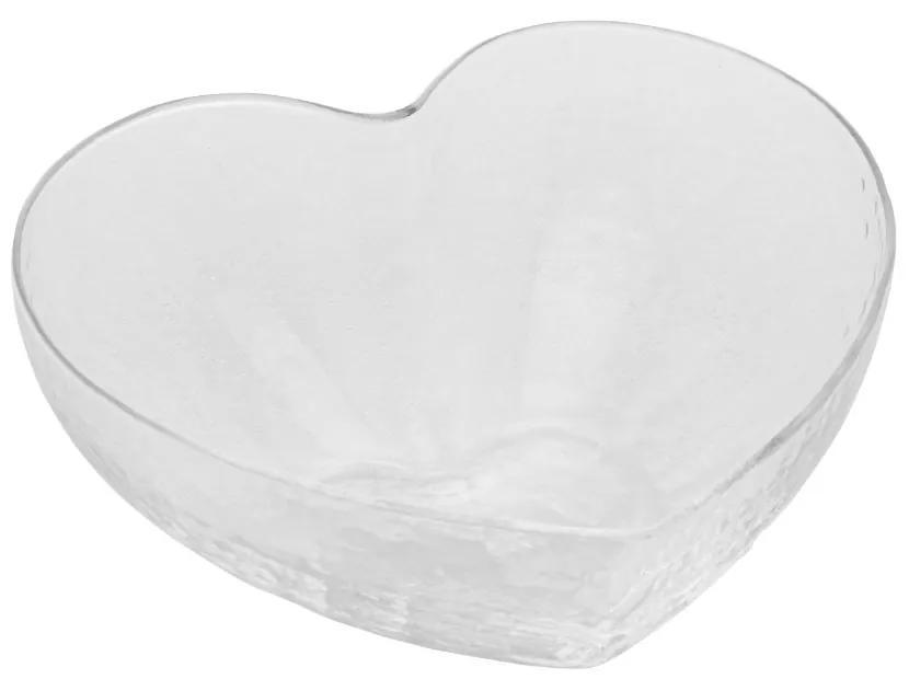 Bowl Vidro Heart 15x14x6cm 28340 Bon Gourmet
