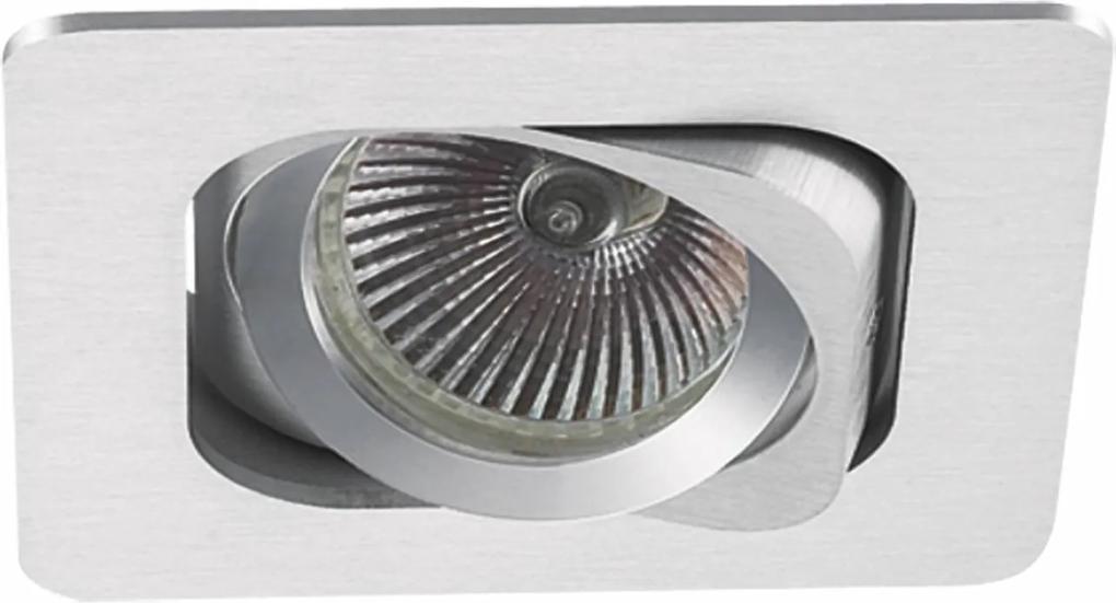spot embutido MONET 1XAR70 alumínio BELLA NS6701A