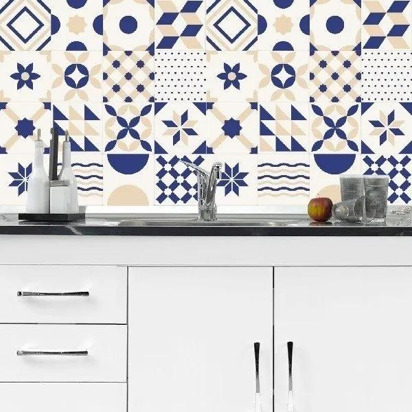 Adesivo Azulejos Modernos 09 (20x20cm)