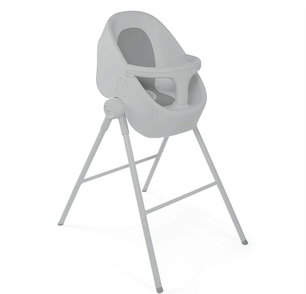 Banheira Para Bebê Com Suporte Chicco Bubble Nest Cool Grey