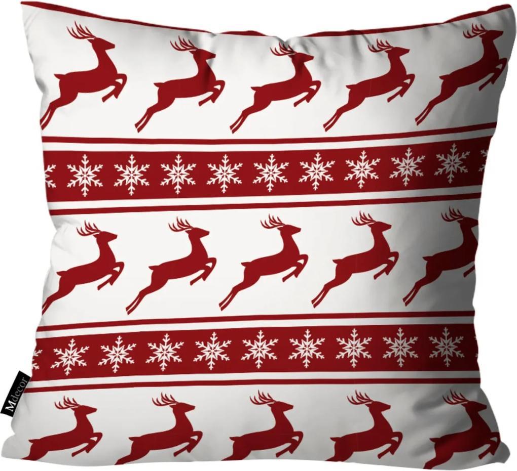 Capa para Almofada de Natal 45x45cm Branco