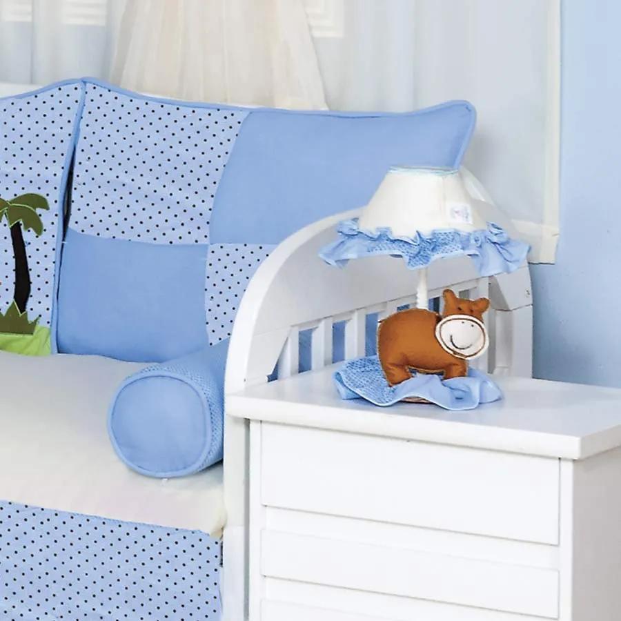 Abajur Selva Baby Azul