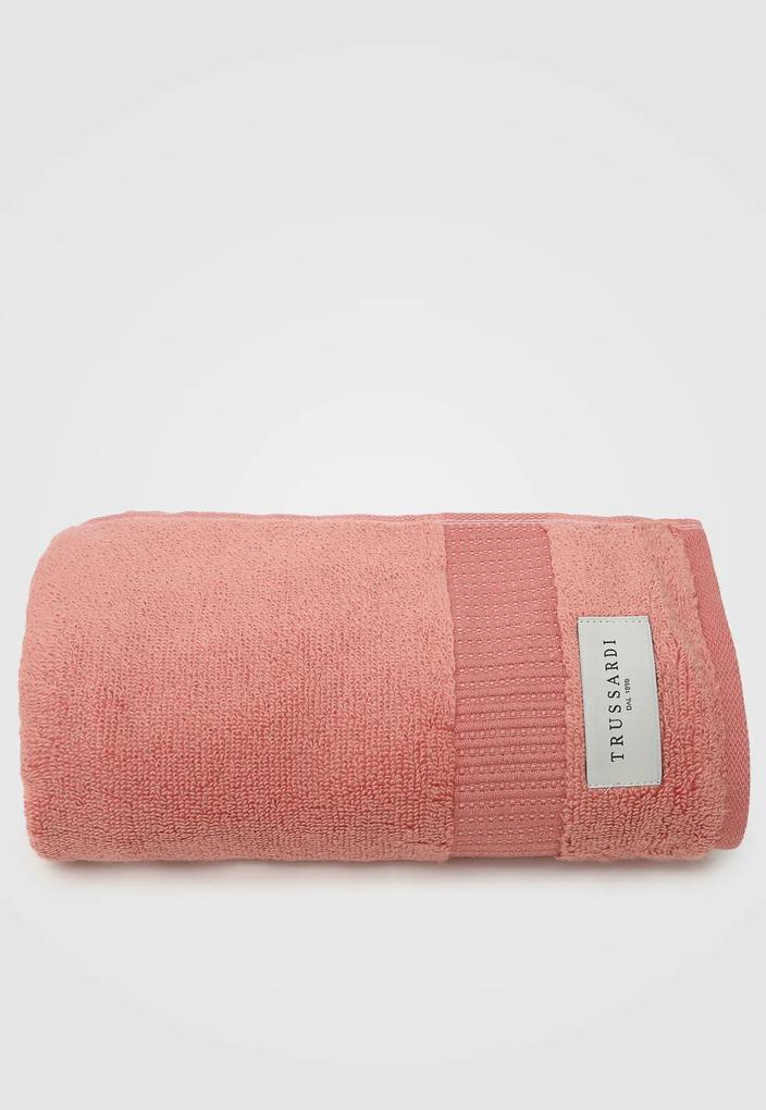 Toalha de Rosto Trussardi  Doppia Terracota Vermelha