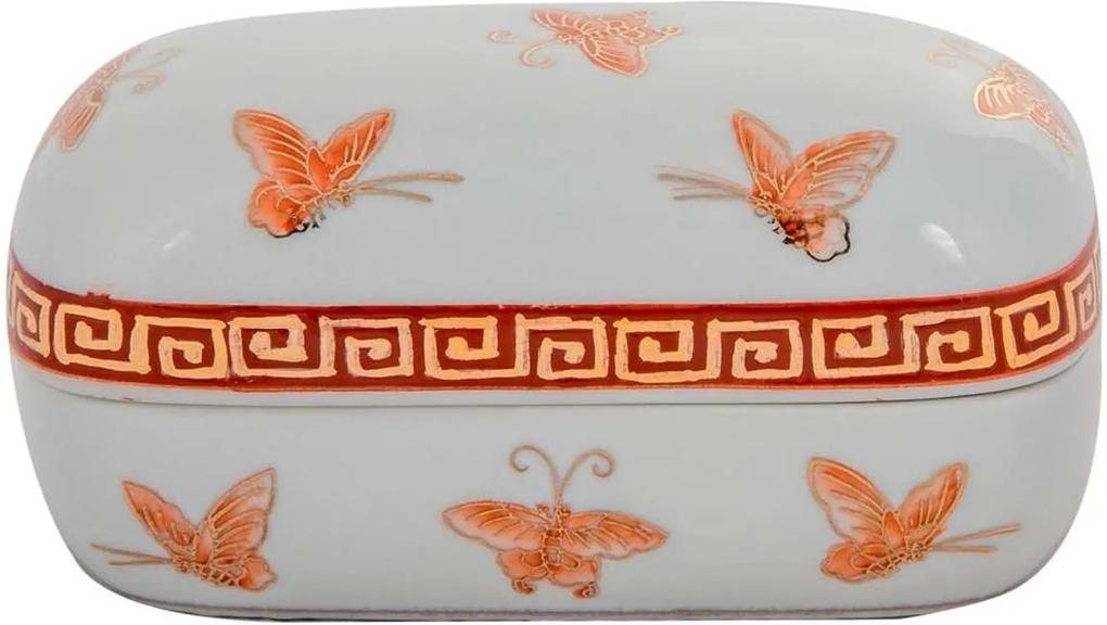 Vaso Decorativo de Porcelana Birds I