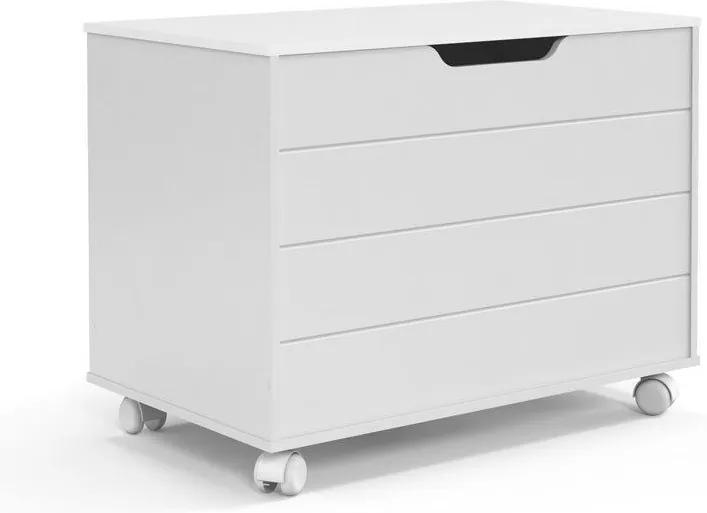 Baú Toy Branco Soft - Matic Móveis