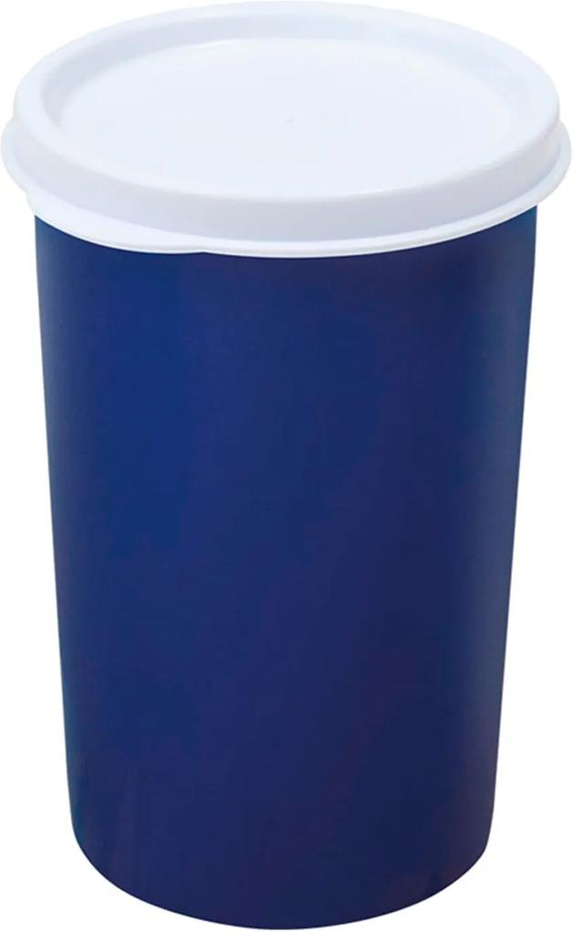 Copo hermético turim dup azul Marinho 400ml