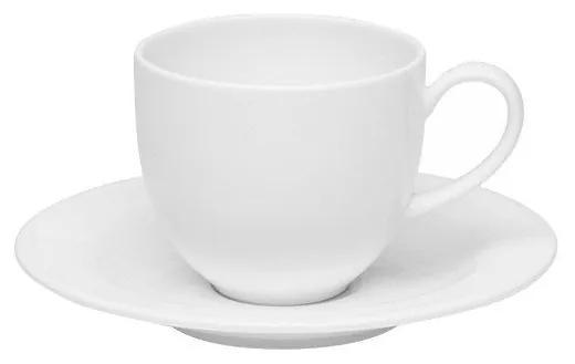 Jogo 06 Xícaras Cafezinho C/ Pires Blanc