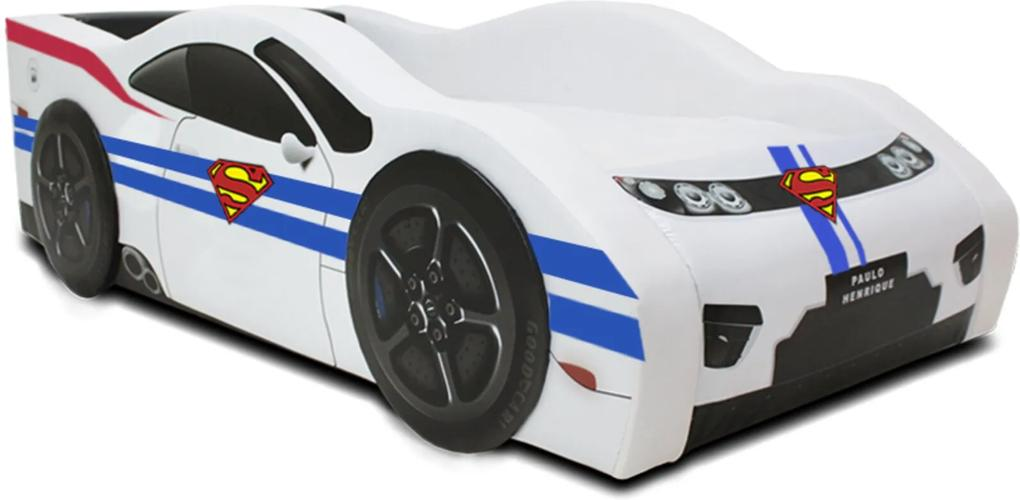 Mini Cama Super Boy - Cama Carro Branca