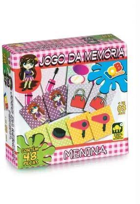 JOGO DA MEMÓRIA MENINA