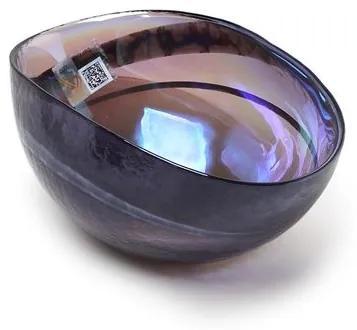 Bowl de Murano Roxo Espiral Yalos
