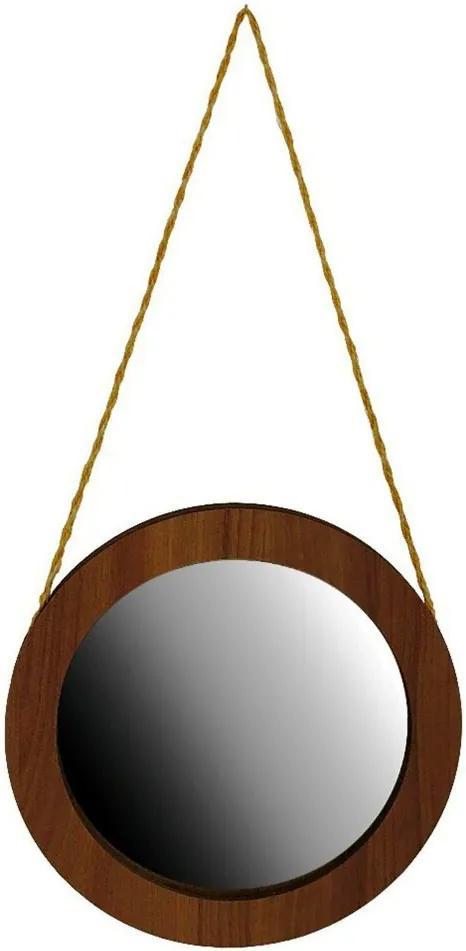 Espelho Redondo 50 cm  Crie Casa Amadeirado