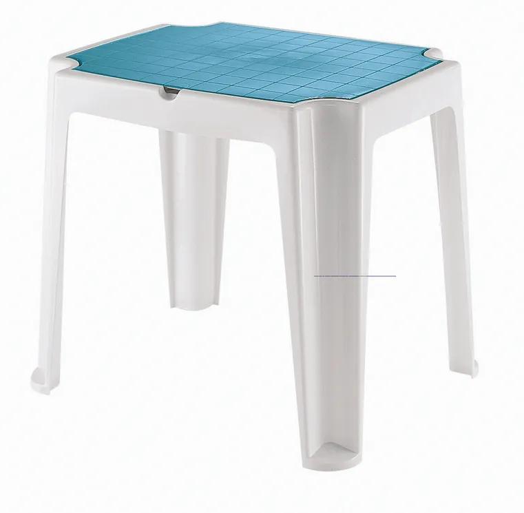 Mesa Versa - Infantil - Cores Branco e Azul Dodger - Tramontina