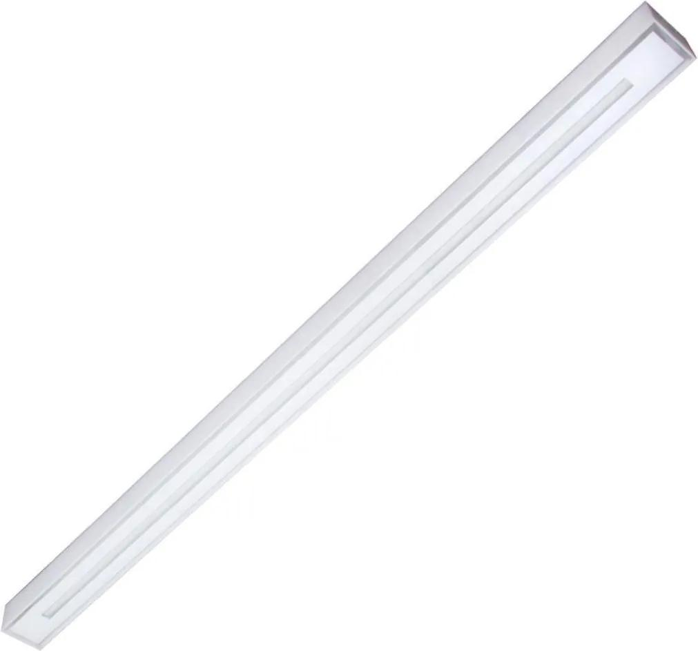 Plafon Led Sobrepor Tubular Luz Branca Valencia 120cm