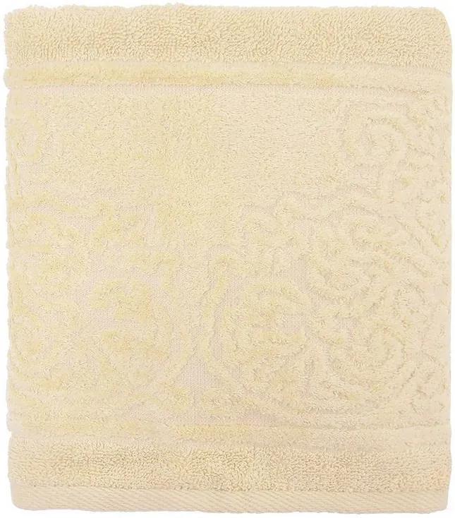 Toalha de Rosto Jacquard Confort - Bege 9646 - Döhler