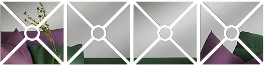 Espelho Love Decor Decorativo Mosaico Único